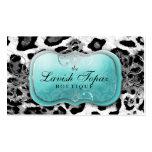 311 The Lavish Topaz Leopard Business Card Templates