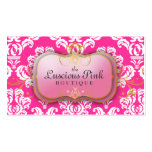311-The Luscious Pink Plate | Hott Pink Business Cards