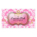 311 The Luscious Pink Plate Pink Business Cards