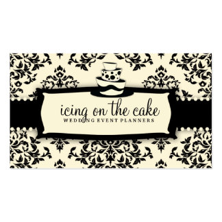 311 torta de la grada de la crema 3 del regaliz de tarjetas de visita
