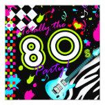 311 totalmente el fiesta de los años 80 - guitarra comunicado personalizado