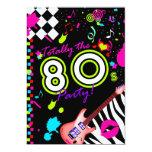 311 totalmente el fiesta de los años 80 - guitarra invitacion personal
