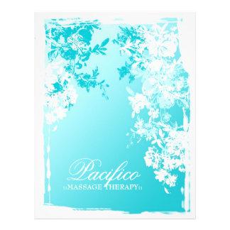 """311-Tranquil Blue Garden Fade 8.5"""" X 11"""" Flyer"""