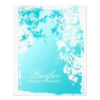 """311-Tranquil Blue Garden Fade 4.5"""" X 5.6"""" Flyer"""