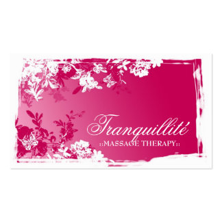 311 TRANQUIL GARDEN PINK FADE Double-Sided STANDARD BUSINESS CARDS (Pack OF 100)