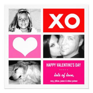 311 Triple Square Valentine Custom Personalized Announcement