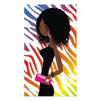 311-True Colors Rainbow | A American Fashionista Business Card