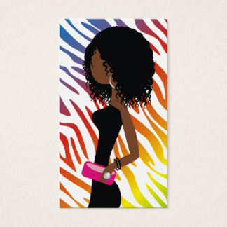 311-True Colors Rainbow | A American Fashionista Business Card