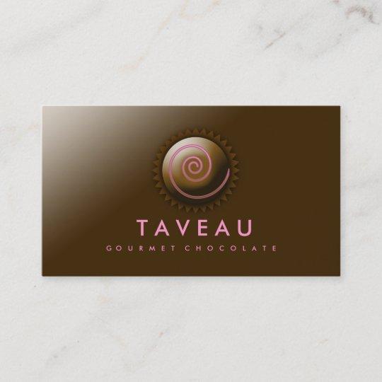 311 upscale gourmet chocolate business card zazzle 311 upscale gourmet chocolate business card colourmoves