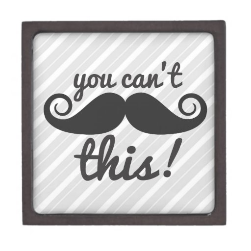 311 usted no puede manejar este bigote caja de joyas de calidad