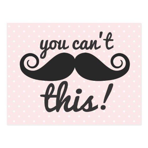 311 usted no puede manejar tarjetas de este bigote postal
