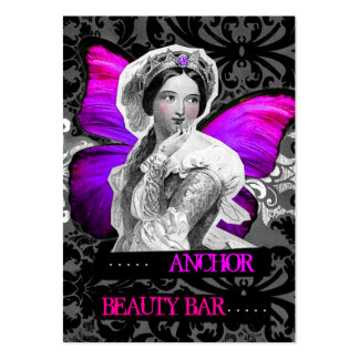 311 Vintage Butterfly Beauty Anchor Purple Pink Large Business Card
