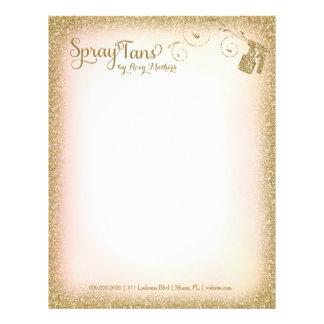 311 Vintage Glam Spray Tan Letterhead