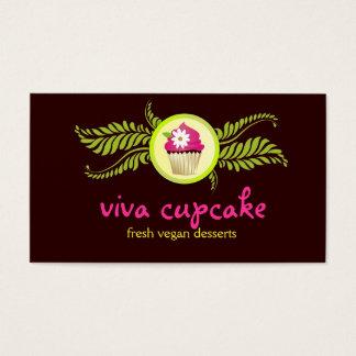 311 Viva Cupcake Chocolate Brown Business Card