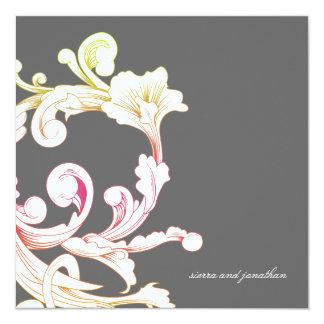 311-Vivid Foliage Flare Gray Card