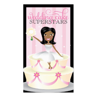 311 Wedding Cake Superstars African American Business Card