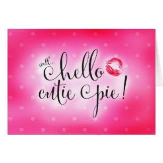 311 Well Hello Cutie Pie Will You Be Flower Girl Stationery Note Card