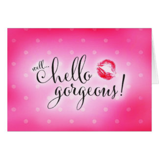 311 Well Hello Gorgeous Will You Be Bridesmaid Stationery Note Card