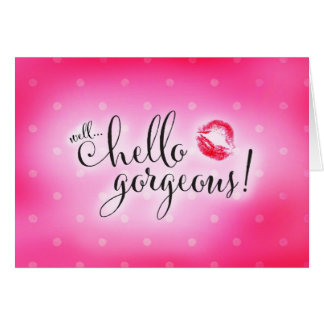 311 Well Hello Gorgeous Will You be My Bridesmaid Stationery Note Card