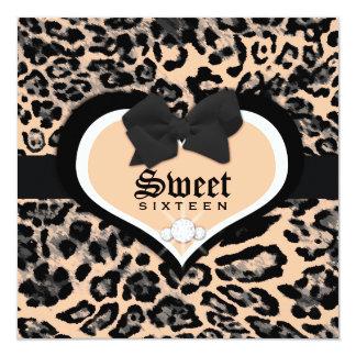 311 Wild at Heart Sweet Sixteen | Quinceanera Card