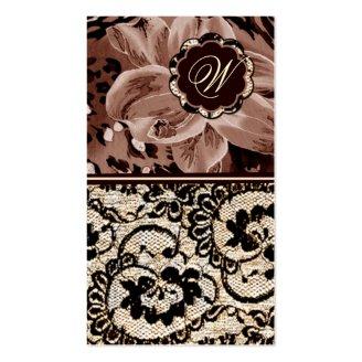 311-Wild Lily Lace | Sepia Tone