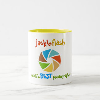 311-WORLD'S BEST PHOTOGRAPHER Two-Tone COFFEE MUG