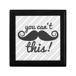 311 You Can't Handle This Mustache Jewelry Box