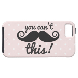 311 You Can't Handle This Mustache Phone Cases iPhone SE/5/5s Case