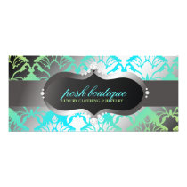 311 Zeopard Sign & Damask Shimmer Paradise Lime Rack Card