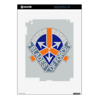 311th Aviation Battalion - Blades Of Force Decal For iPad 2