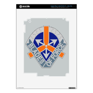 311th Aviation Battalion - Blades Of Force iPad 3 Decals
