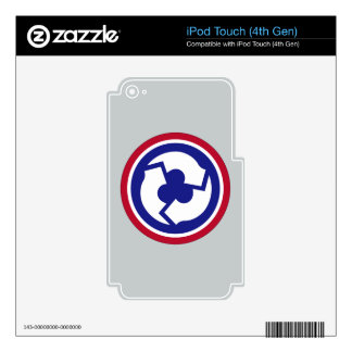311th Sustainment Command iPod Touch 4G Decals