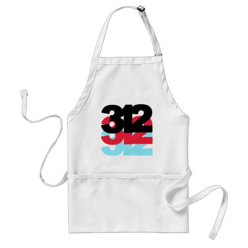 312 Area Code Aprons
