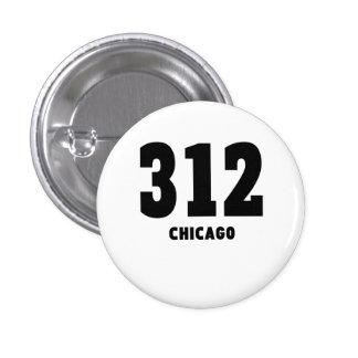 312 Chicago 1 Inch Round Button
