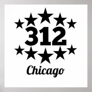 312 Chicago Póster