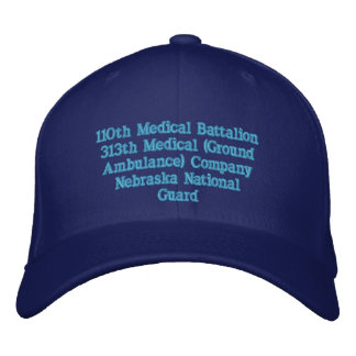 313th Medical Ground Ambulance Company Embroidered Baseball Cap