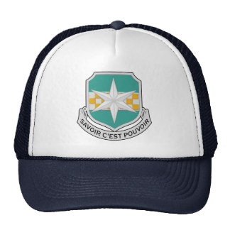 313th Radio Research Battalion DUI Trucker Hat