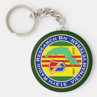 313th RR Bn 2 - ASA Vietnam Keychain