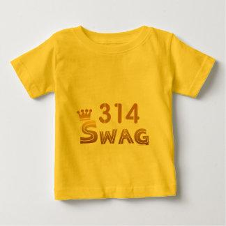 314 Missouri Swag Baby T-Shirt