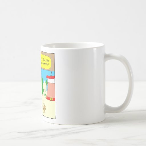 314 Red or white hummingbird wine cartoon Classic White Coffee Mug