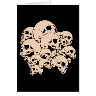 314 Skulls Card
