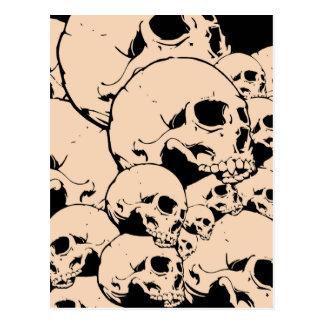314 Skulls Postcard