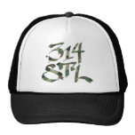 314STL in Camo Mesh Hats