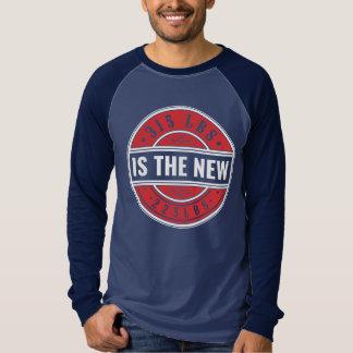 """""""315 es los nuevos. """"Camiseta larga del raglán de Playera"""
