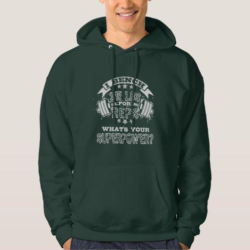 """""""315 for Reps""""(2)Men's Basic Hooded Sweatshirt"""