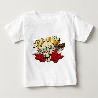 315 Tattoo Skull Baby T-Shirt