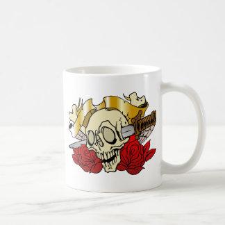 315 Tattoo Skull Classic White Coffee Mug
