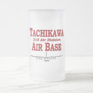 315th AD Tachikawa Air Base Japan Frosted Glass Beer Mug