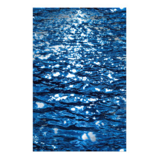 316143 BLUE OCEAN RIPPLES NATURE BEAUTY BACKGROUND STATIONERY