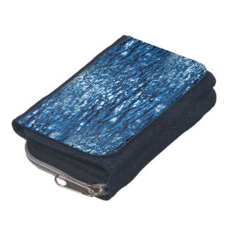 316143 BLUE OCEAN RIPPLES NATURE BEAUTY BACKGROUND WALLETS